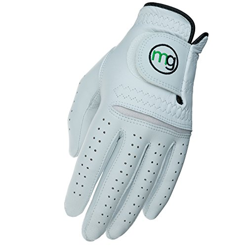 MG Golf Glove Mens Left (RH Golfer) DynaGrip Elite All-Cabretta Leather (X-Large Regular Size)