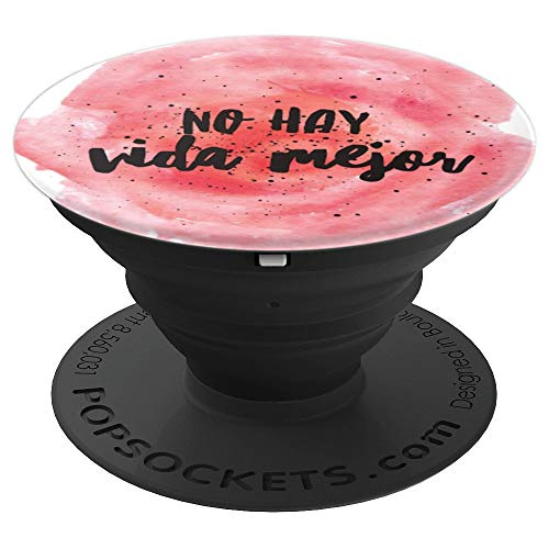 JW Best Life Ever Spanish No Hay Vida Mejor Watercolor Paint - PopSockets Grip and Stand for Phones and ()