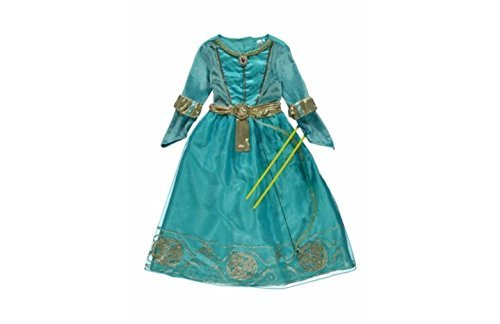 [Disney George Princess Merida Costume with Bow & Arrows - Age 5-6 Years by George] (Merida Bow And Arrow Costume)
