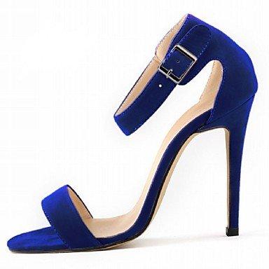 KYDJ @ Mujer-Tacón Stiletto-TaconesCasual / Fiesta y Noche / Vestido-Tejido-Negro / Azul / Amarillo / Morado / Rojo / Blanco / Beige / Naranja Blue