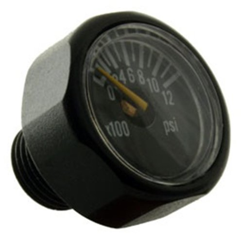 Paintball Gauge Psi (Invert Paintball Micro Gauge 1200 PSI)