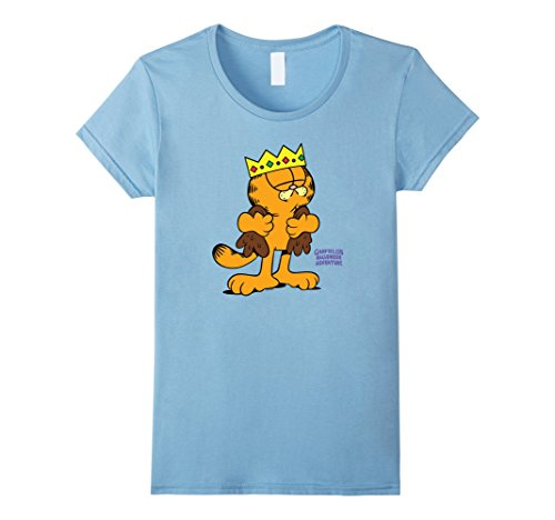Womens Garfield King Costume Medium Baby Blue