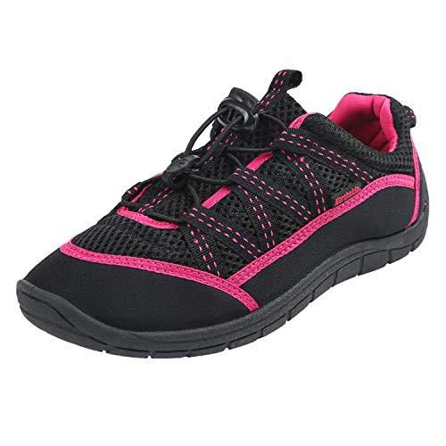 Northside Unisex Brille II Athletic Water Shoe,Black/Fuchsia,10 M US