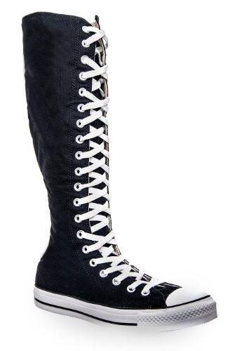 Converse The Chuck Taylor All Star XX-HI Zipper Sneaker,6M / 8W,Black