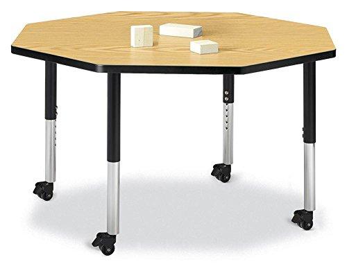 Berries 6428JCM210 Octagon Mobile Activity Table, 48