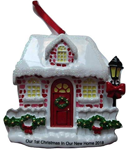 First Christmas in New Home Christmas Ornament 2018 -