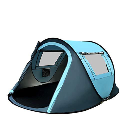 請負業者帰する孤独屋外の2?3人が屋外キャンプテントを建てる必要はありませんポータブルボートテント