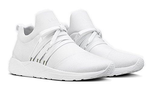 S Arkk Sneakers Uomo Eu Tessuto Bianco 43 Tecnico Mesh e15 Raven qtptS