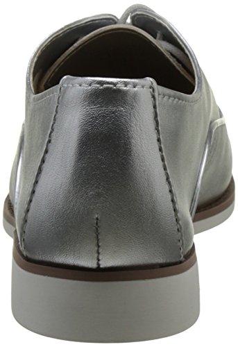 Mcallister Silver Mujer Oxford Aldo Cordones para Plateado Zapatos de 81 HnaUq