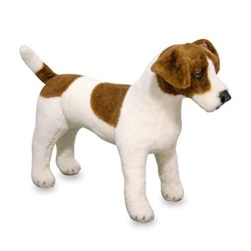 (Melissa & Doug Giant Jack Russell Terrier - Lifelike Stuffed Animal Dog (over 12 inches tall))