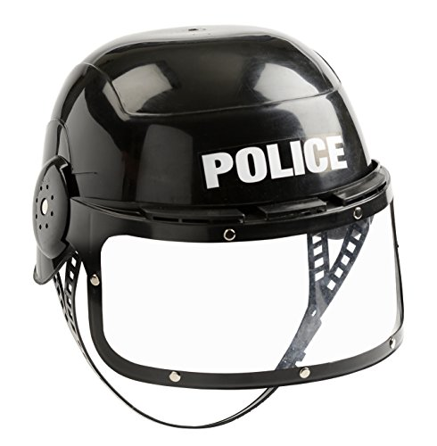 Aeromax Jr. Police Helmet with Movable Visor and
