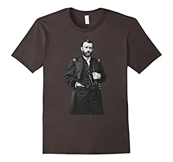 Mens General Ulysses S Grant Union Commander American Civil War 2XL Asphalt