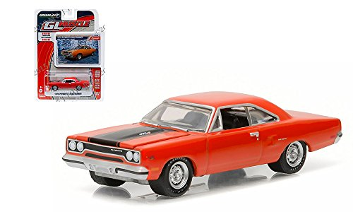 1:64 GL MUSCLE SERIES 16 - 1970 PLYMOUTH ROAD RUNNER 13160-B BY GREENLIGHT (Light Roadrunner)