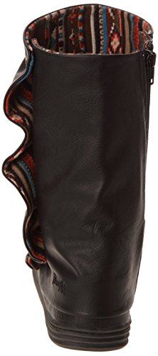 Black Blowfish Raton Women's Slouch Black Boots AARwr