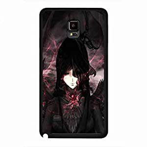 Cool Dark Angel Funda,Dark Angel Samsung Galaxy Note 4 Funda,Hard Plastic Samsung Galaxy Note 4 Funda
