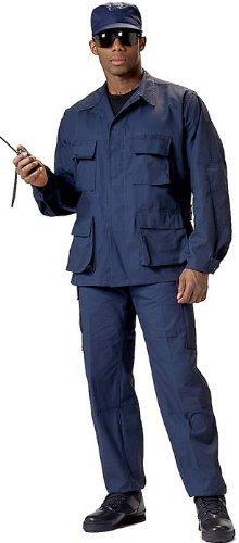 Navy Blue Bdu Shirt - 7