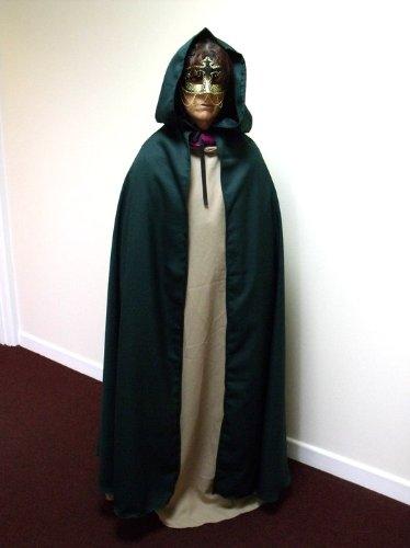 Merlins Medieval Closet Déguisement cape pour adulte Legolas/Frodon/Le Seigneur des Anneaux/Pirate/Arwenn/Halloween