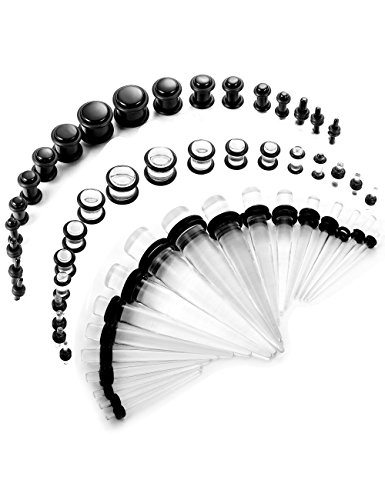 Acrylic Tapers Plugs - 8
