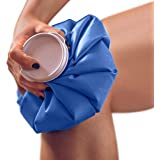 Doctor Developed Hot and Cold Pack/Ice Bag/Ice Pack/Compress [Single] - Re-useable and Waterproof with Spill-Proof caps…