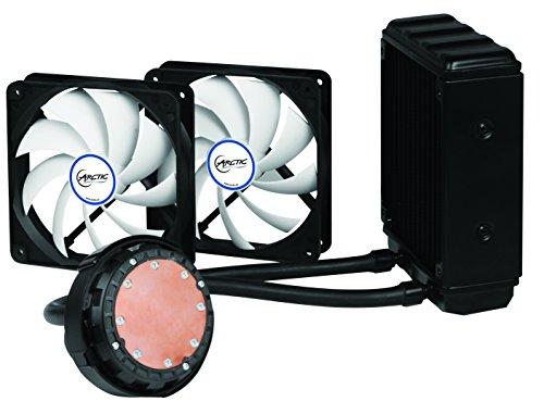 ARCTIC Liquid Freezer 120, Leistungsstarker CPU Wasserkühler mit flüsterleisem 120 mm PWM Lüfter, Kompatibel mit AMD und Intel, MX-4 Wärmeleitpaste beiliegend