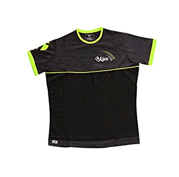 Kaitt Excellence REF-2015-KE-176 - Camiseta para Hombre, Color Negro/Amarillo flúor, Talla M: Amazon.es: Deportes y aire libre