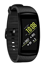 Samsung Gear Fit2 Pro Smart Fitness Band (Small), Liquid Black, SM-R365NZKNXAR