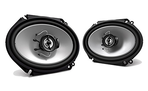 Kenwood KFC‑C6866S 6X8 2‑Way 250 Watt Car Stereo Speakers - Pair (Best 6x8 Door Speakers)