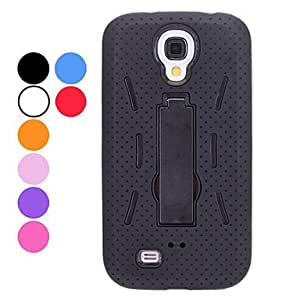 Dismountable Multilayer Protective Case with Stand for Samsung Galaxy S4 I9500 (Assorted Colors) Lightning Sale --- COLOR:White