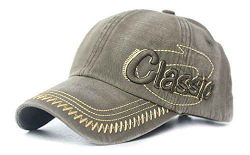 King Star Men Classic Adjustable Outdoor Sport Baseball Cap Hat Green