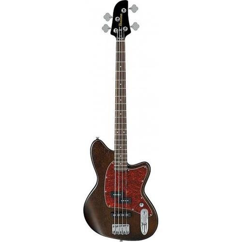 4 Electric Bass Guitar (Ibanez TMB100 4-String Electric Bass Guitar Flat Walnut)