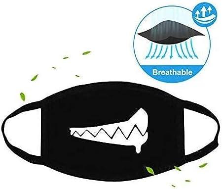 Tianfu transpirable Cubrecolch/ón facial de alta calidad lavable reutilizable recomendado para hombres y mujeres neutro 5 unidades
