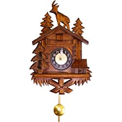 ENGS 0137QP Engstler Battery-operated Clock - Mini Size with Music-Chimes