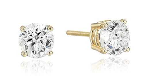 14k-Yellow-Gold-Round-Cut-Diamond-Screw-Back-and-Post-Stud-Earrings-1-15cttw-H-I-Color-I2-Clarity