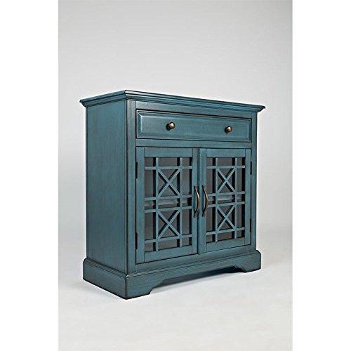 Jofran 175-32 Craftsman Accent Chest, Antique Blue