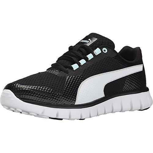 Puma Womens PUMA Blur Shoes, Black/White/Clearwater, Size 6