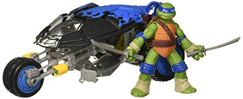 Teenage Mutant Ninja Turtles Leonardo with Stealth Bike Vehicle with Action Figure