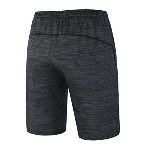 """Gash Hao Mens Shorts Gym Running Basketball Athletic 10"""" Quick Dry"""
