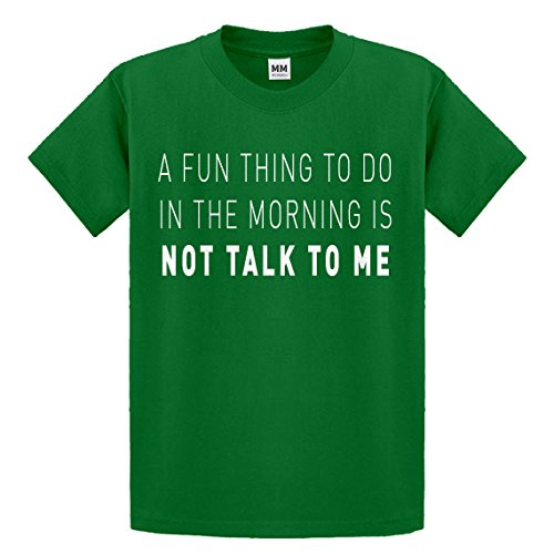 Indica Plateau Youth Not Talk to Me X-Small Kelly Green Kids T-Shirt