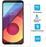 Azzil LG Q6 Plus 2.5D 9H Anti-Fingerprints and Oil Stains Coating Hardness Tempered Glass Screen Protector