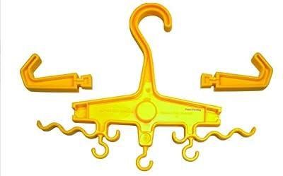 Marine Sports Manufacturing Multi-Hanger Combo Hanger Yellow