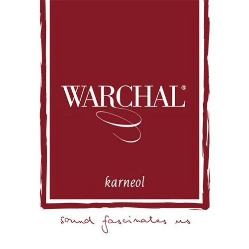 Warchal Karneol Violin String Set Ball End
