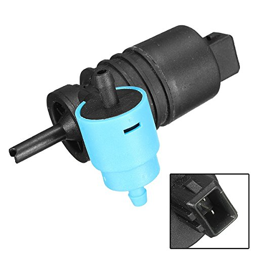 NICOLIE Car Front Rear Windscreen Washer Pump for 1999-2005 Rover:
