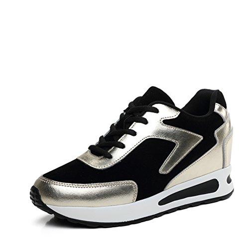 Primavera Zapatos De Altura-alargando/Zapatos De Suela Espesa/Zapatos Plano Casuales/Corea Mayor Zapatos De Los Deportes B