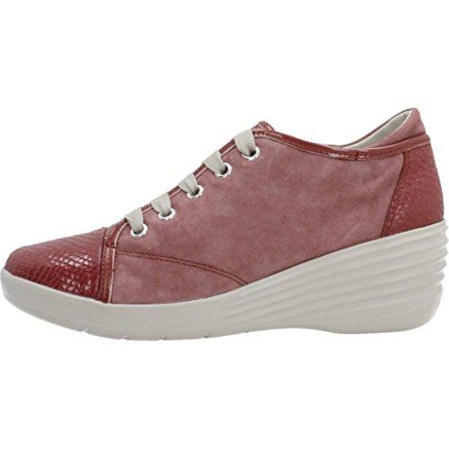 Stonefly Calzado Deportivo Para Mujer, Color Rojo, Marca, Modelo Calzado Deportivo Para Mujer Ebony 1 Rojo Rojo