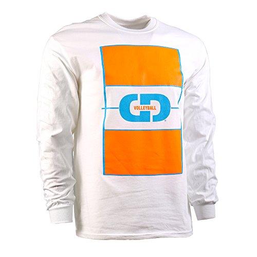 GIMMEDAT Volleyball Court Long Sleeve Shirt Player Gift White