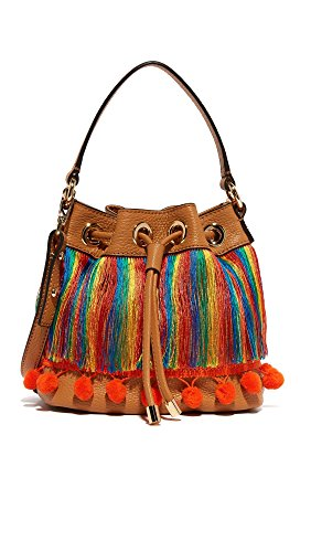 Body Cross MILLY Sm Caramel Bag Pom Drawstring nwTzIrAT