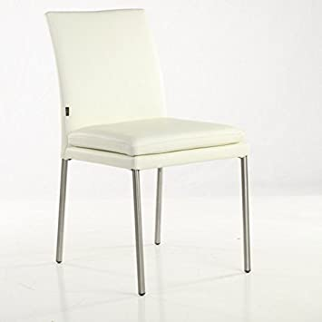 stuhl leder edelstahl interesting leder stuhl freizeit haus edelstahl stuhl rckenlehne flanell. Black Bedroom Furniture Sets. Home Design Ideas