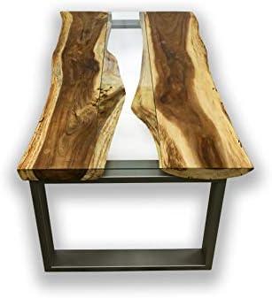 Mienloco Suar Mammut - Mesa de Comedor (Madera Maciza, 220-240 cm ...