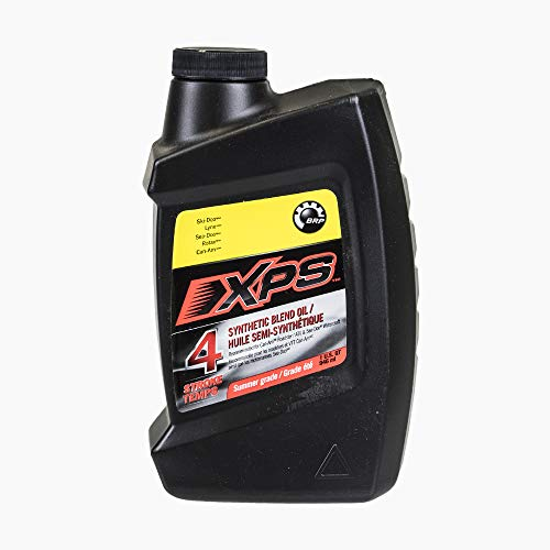 OEM XPS SAE 5W40 Rotax Synthetic Blend Summer Grade 4-Stroke Engines Oil 1 Quart 293600121 (Brp Xps Synthetic Blend 4 Stroke Oil)