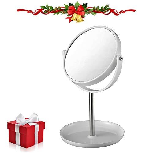 Vanity Makeup Mirror with Organizer Base, 6